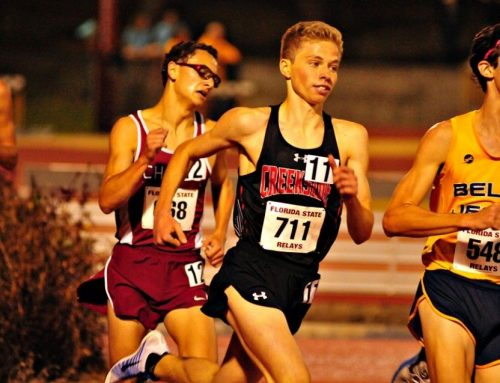Future UF Runner , Nick Deal uses mental toughness strategies to prepare for his races